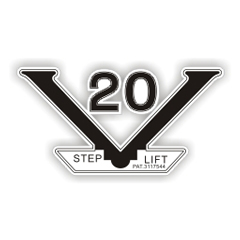 V-20 step lift DECALS